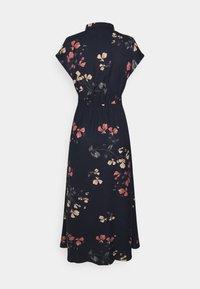 Vero Moda - VMHALLIE LONG TIE DRESS - Shirt dress - night sky/hallie - 1