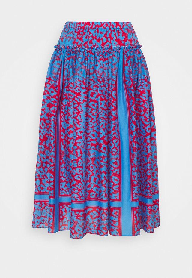 LOULOU SUMMER SKIRT - Áčková sukně - blue