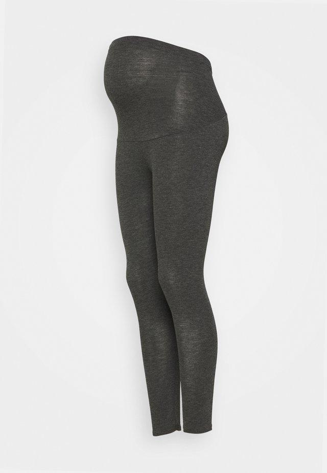 OVERBUMP LEGGINGS - Leggings - Trousers - grey marl