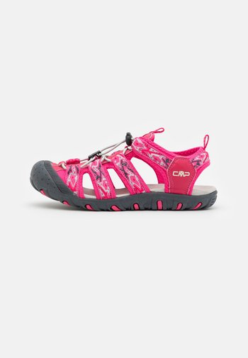SAHIPH UNISEX - Walking sandals - fragola/gloss