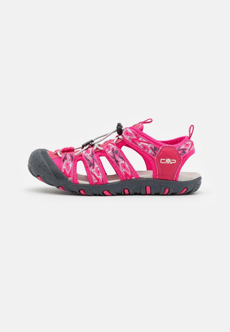 CMP - SAHIPH UNISEX - Walking sandals - fragola/gloss