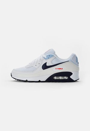 AIR MAX - Sneakers laag - white/midnight navy-chile red-psychic blue