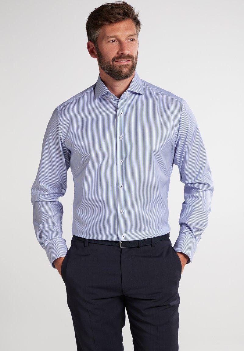 Eterna - Shirt - blau/weiß
