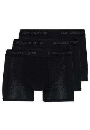 CORBIN 3 PACK - Onderbroeken - schwarz
