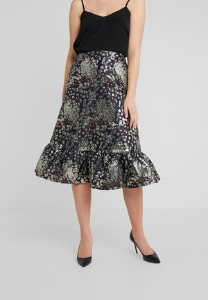 COIX - A-line skirt - night blue