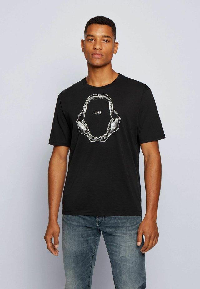 TIMA - T-shirt print - black