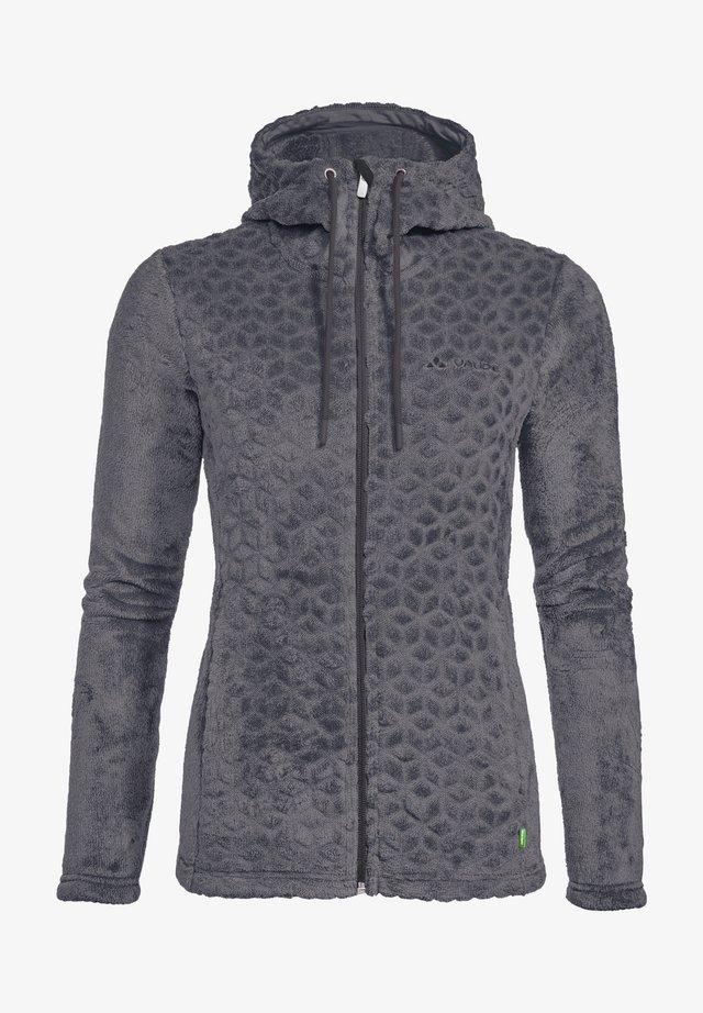 SKOMER - Fleece jacket - phantom black