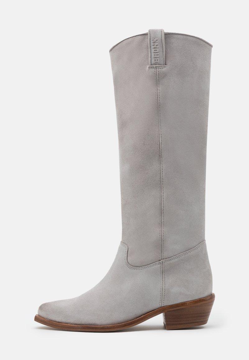 Bronx - RAIDDAN - Cowboy/Biker boots - ice grey