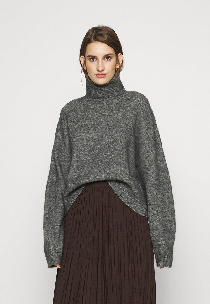 Samsøe Samsøe - NOLA  - Jumper - dark grey