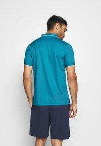 Nike Performance - DRY TEAM - Funkční triko - neo turquoise/white - 2