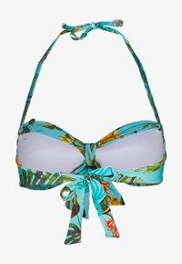 Banana Moon - TONTO BANANAS - Bikini top - turquoise - 1