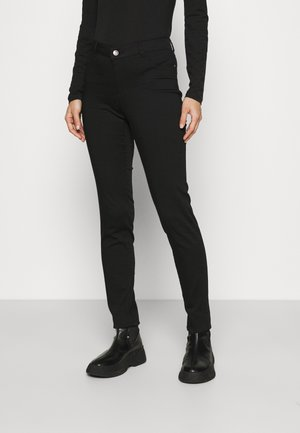 POWER SKINNY - Trousers - noir