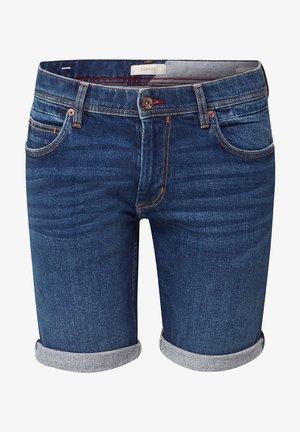 MIT ORGANIC COTTON - Denim shorts - blue dark washed
