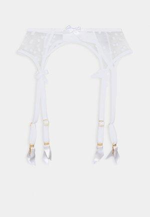 BRIE SUSPENDER - Strømpeholdere - white