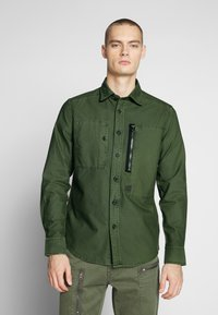 G-Star - POWEL SLIM SHIRT L\S - Skjorta - bronze green - 0