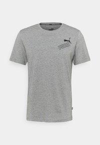 AMPLIFIED TEE - Print T-shirt - medium gray heather