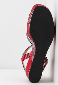 Mulberry - High heeled sandals - rosso/bianco - 6