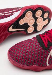 Nike Performance - REACTGATO  - Indoor football boots - cardinal red/crimson tint/black/white - 5