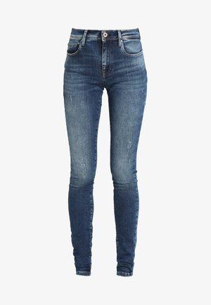 ONLSHAPE - Skinny džíny - dark blue denim