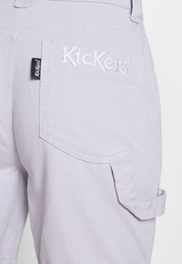 Kickers Classics - DRILL PANTS - Jeansy Relaxed Fit - lilac - 4