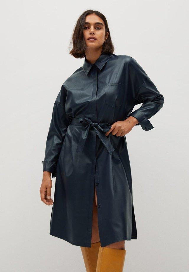 NAVY - Shirt dress - námořnická modrá