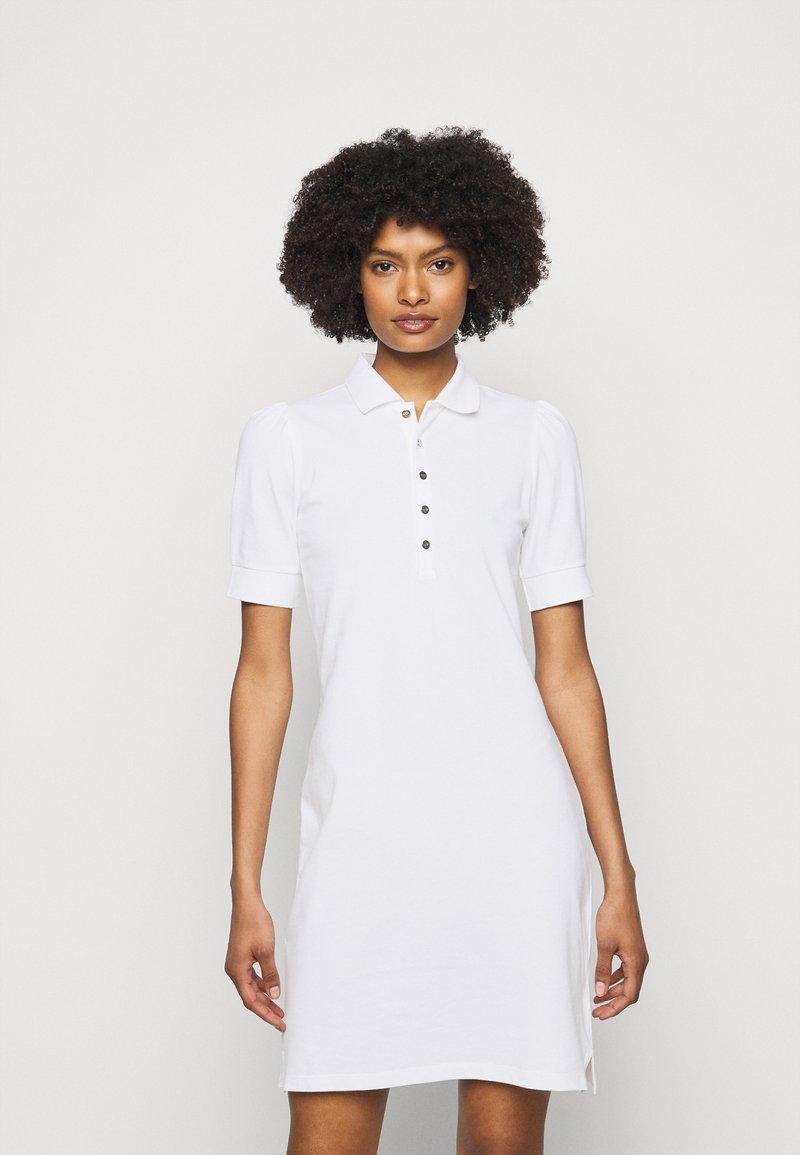 Lauren Ralph Lauren - ATHLEISURE - Pouzdrové šaty - white