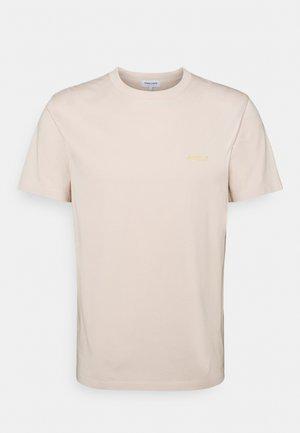 HEAVY TEE AMOUR - Print T-shirt - beige