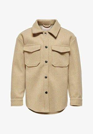 Summer jacket - tannin