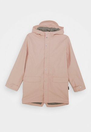 LAZY GEESE UNISEX - Waterproof jacket - evening pink