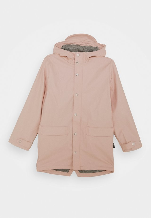 LAZY GEESE UNISEX - Veste imperméable - evening pink