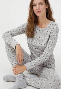 OYSHO - Bas de pyjama - light grey - 5