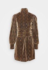 Fashion Union - LEIA - Cocktail dress / Party dress - stripe lurex - 0