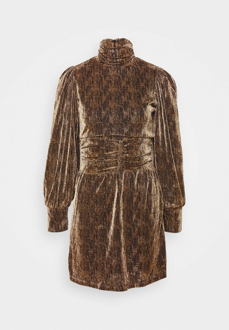 Fashion Union - LEIA - Cocktail dress / Party dress - stripe lurex