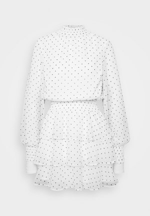 ALEXA TURTLNECK DRESS EXCLUSIVE - Hverdagskjoler - white/black