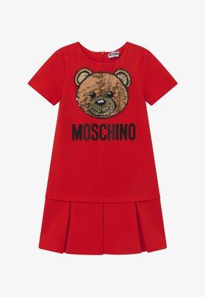 Jersey dress - poppy red