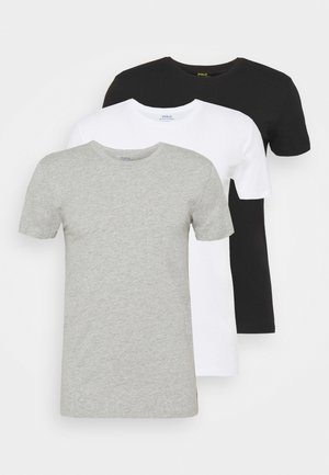 3 PACK - Camiseta interior - white/black/grey