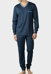 Mey - SET - Pyjama set - yacht blue - 0