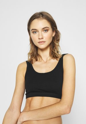 WOMAN BRA SUSTAINABLE - Topp - black
