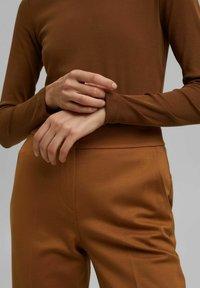 Esprit - LONG SLEEVE - Long sleeved top - toffee - 5