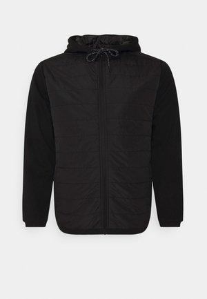 HENDRIX QUILTED ZIP  - Light jacket - black
