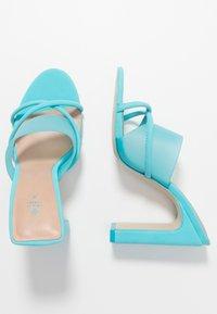 Call it Spring - HOANA - Pantolette hoch - bright blue - 2