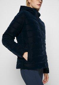 CMP - WOMAN JACKET FIX HOOD - Winter jacket - black blue - 6