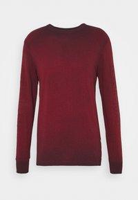 G-Star - LOGO OVERDYE  - Long sleeved top - dry red/sartho blue - 0