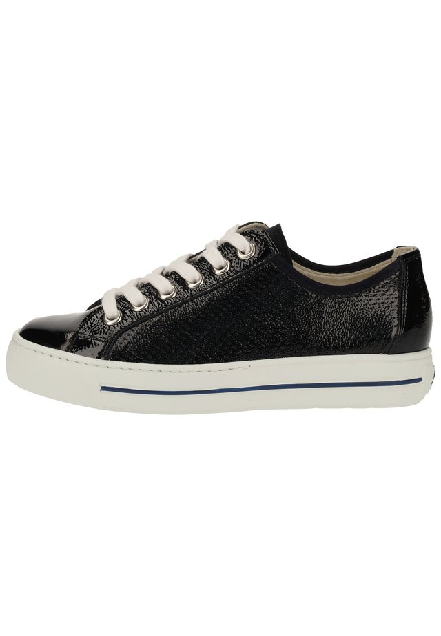 PAUL GREEN SNEAKER - Matalavartiset tennarit - blau 36