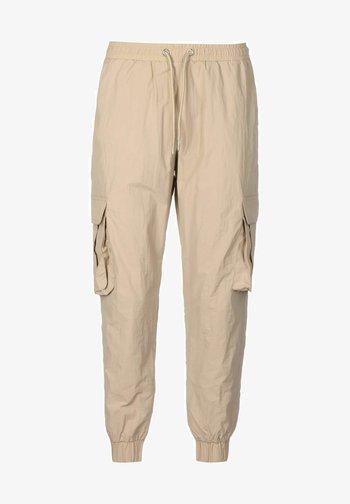 Cargo trousers - concrete