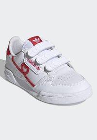 adidas Originals - CONTINENTAL 80 SHOES - Baskets basses - footwear white/vivid red - 2