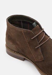 Barbour - READHEAD - Volnočasové šněrovací boty - cocoa - 5