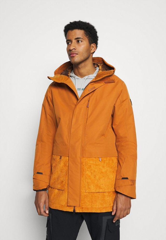 SNOW - Snowboardová bunda - glazed ginger