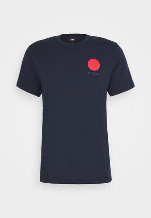 JAPANESE SUN UNIAWY - Print T-shirt - navy blazer