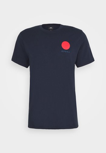 JAPANESE SUN UNISEX - T-shirts med print - navy blazer